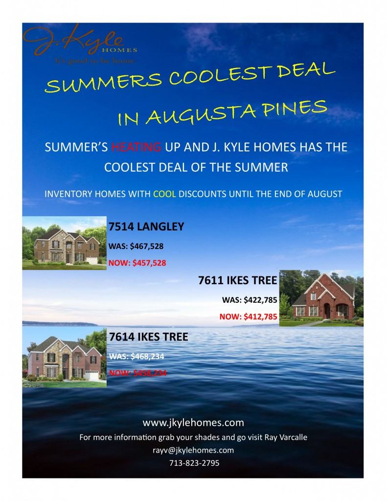 COOL DEALS ON INVENTORY HOMES