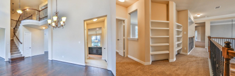 Interior view of Conroe home for sale